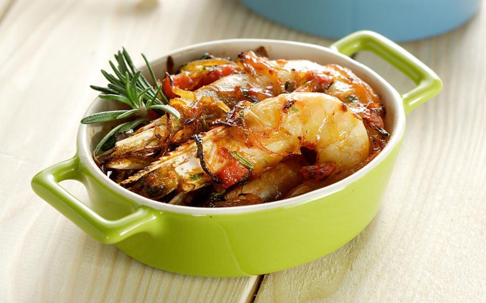 Οι Συνταγές της Αναστασίας! Γαρίδες με κρεμμύδια