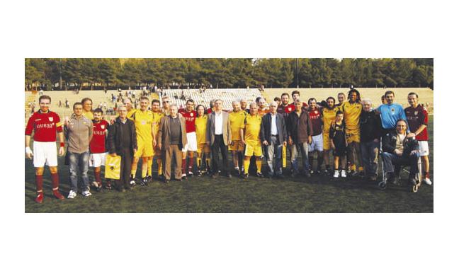 Ποδοσφαιρικός αγώνας αγάπης
