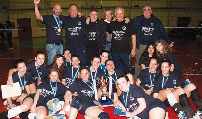 Πρωτάθλημα και άνοδος για την Α.Ε. Γκράβας