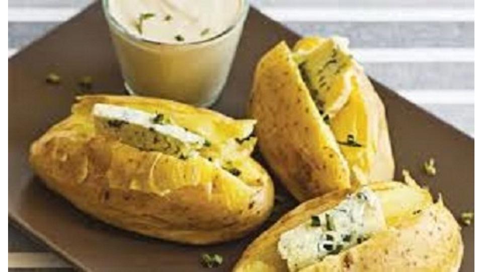 Οι Συνταγές της Αναστασίας! Πατάτες με ροκφόρ