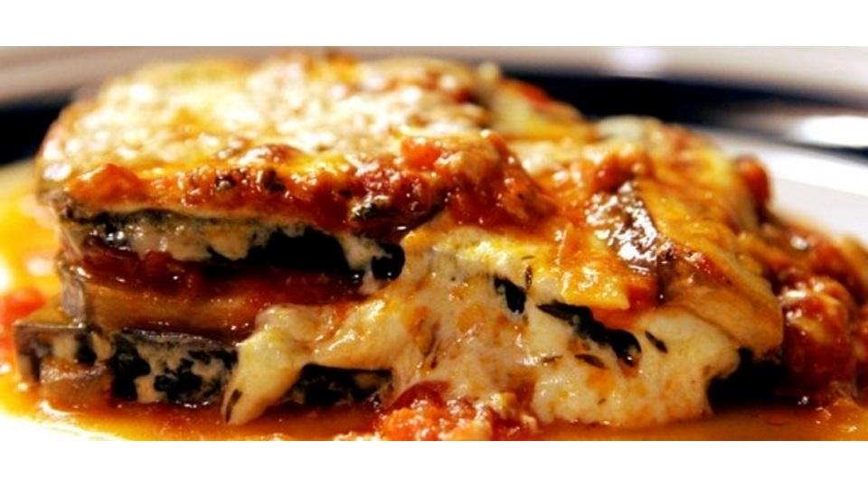 Οι Συνταγές της Αναστασίας !!Λαζάνια φούρνου με μελιτζάνες