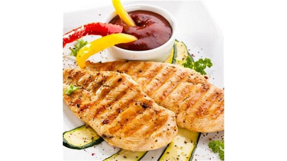 Φιλέτα στήθους κοτόπουλου με σάλτσα καυτερού μελιού!