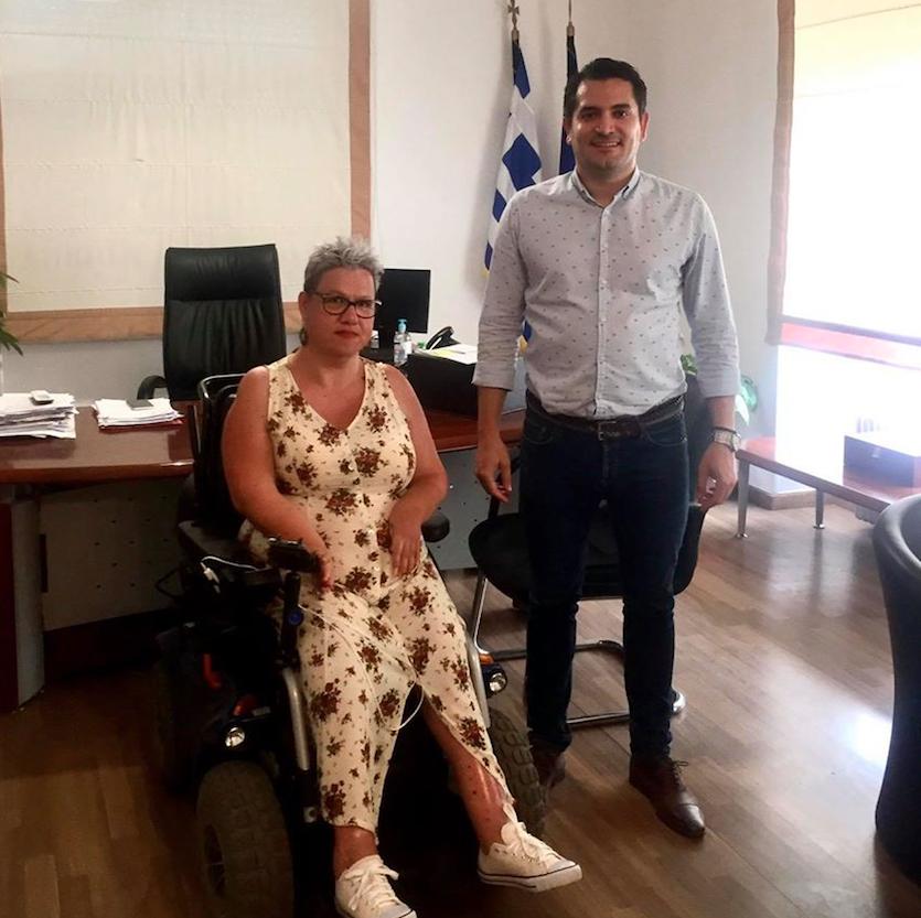 Δήμος Αγ. Αναργύρων – Καματερού: Ίδρυση γραφείου ΑμεΑ