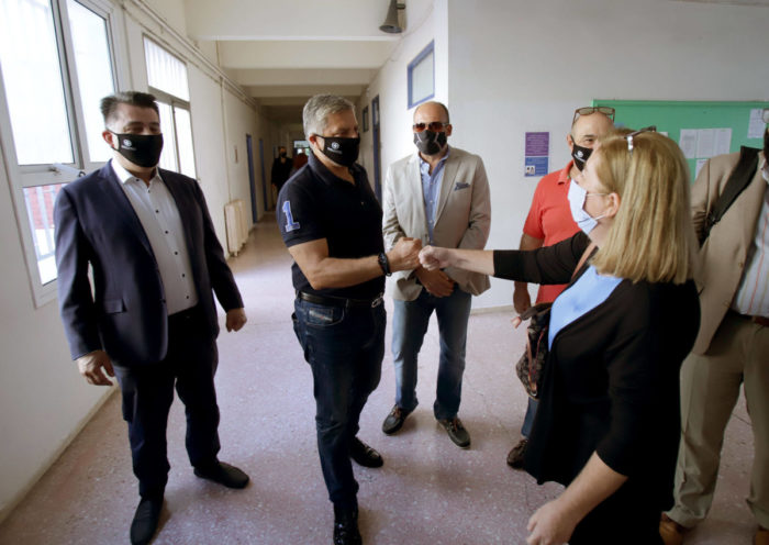 Υγειονομικοί έλεγχοι της Περιφέρειας στο 16ο Γυμνάσιο Αθηνών στους Αμπελόκηπους