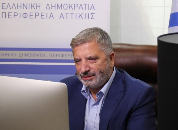 Γιώργος Πατούλης: Η Περιφέρεια Αττικής περνάει σε μία νέα ψηφιακή εποχή
