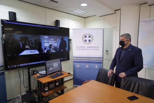 Διαδικτυακά Πρωτοχρονιάτικα κάλαντα στον Περιφερειάρχη Αττικής Γ. Πατούλη
