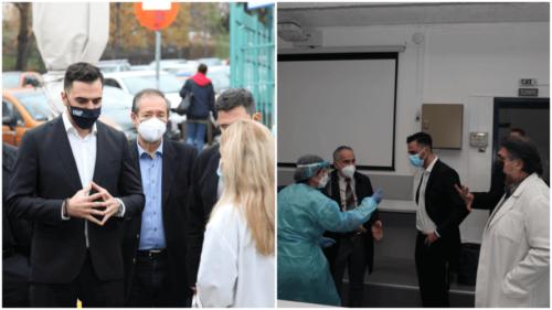 Μανώλης Χριστοδουλάκης : Στήριξη του ΕΣΥ και των ανθρώπων του στην πράξη