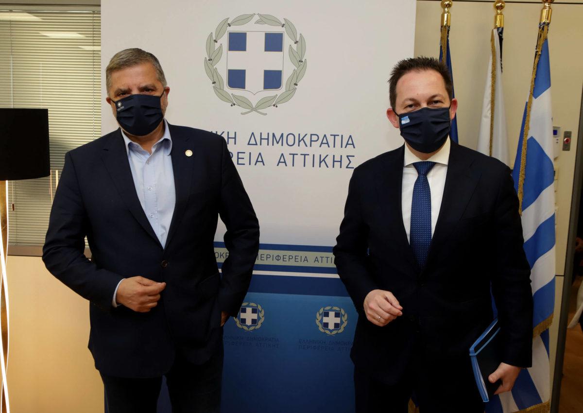 Στην Περιφέρεια Αττικής ο νέος Αν. Υπουργός Εσωτερικών, αρμόδιος για θέματα Αυτοδιοίκησης Σ. Πέτσας