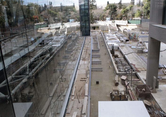 Μενδώνη – Πατούλης στις εργασίες στο κτιριακό συγκρότημα της Εθνικής Πινακοθήκης