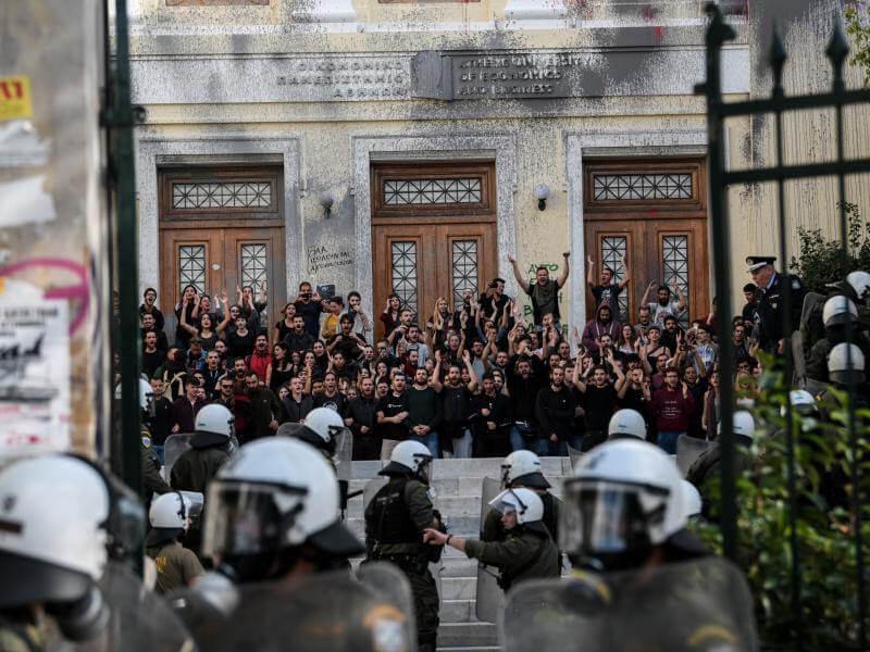 Πράσινο Κίνημα: Καλύτερη φύλαξη των Πανεπιστημίων και όχι αστυνομοκρατία
