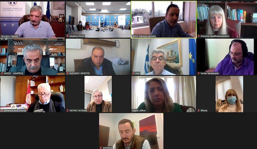 Διαδικτυακή συνάντηση για την ενίσχυση των ΚΕΠ Υγείας των Δήμων Νέας Σμύρνης, Αγίας Βαρβάρας, Δάφνης – Υμηττού, Μεγαρέων