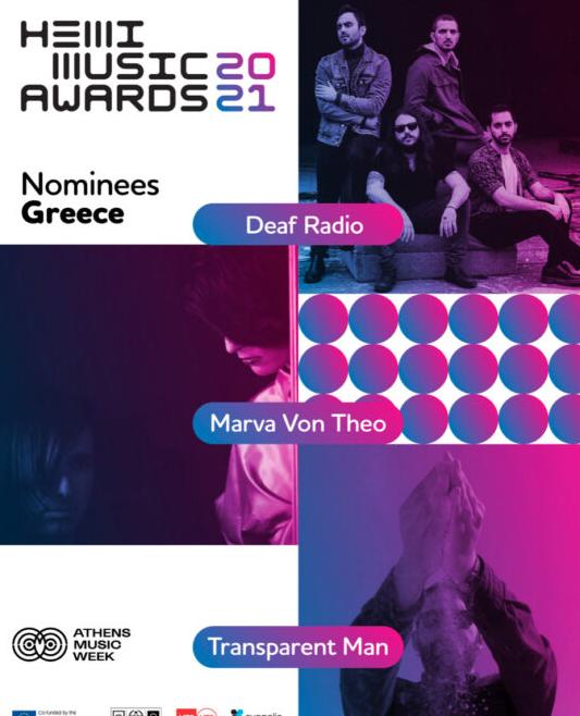 Οι 27 υποψήφιοι για τα HEMI Music Awards 2021!