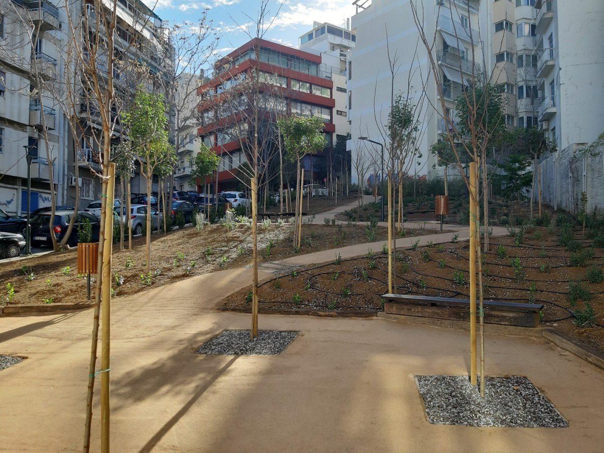 Δήμος Αθηναίων: Έτοιμο ακόμη ένα «Pocket Park» 750 τ.μ. στο Παγκράτι