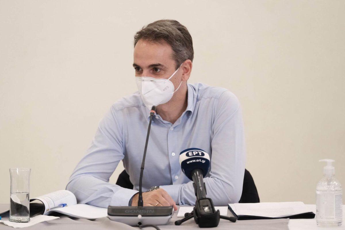 Κυριάκος Μητσοτάκης : Νομίζω ότι είναι απολύτως σαφές ότι βρισκόμαστε αντιμέτωποι εδώ στην Αττική με ένα πολύ έντονο καιρικό φαινόμενο