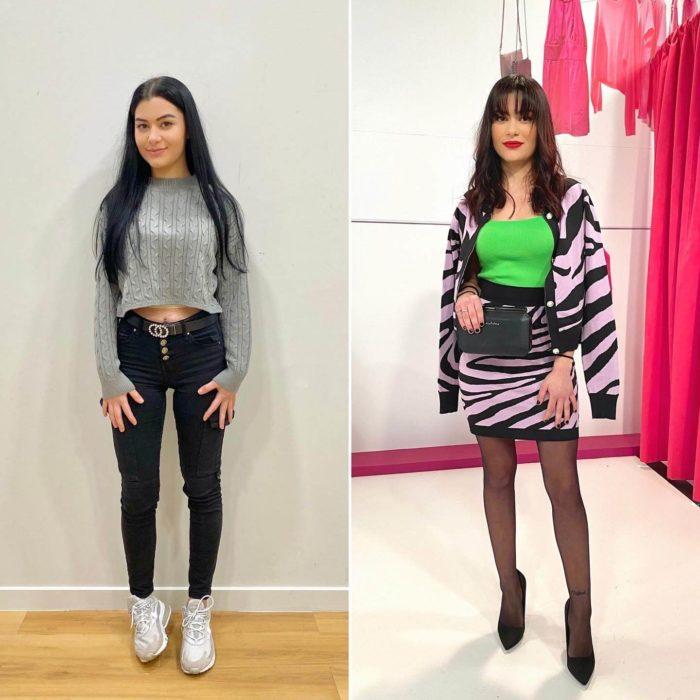 Style Me Up : Η Αγγελική απέκτησε ένα πιο «σικ» στιλ με τη βοήθεια του Δημήτρη Αλεξάνδρου