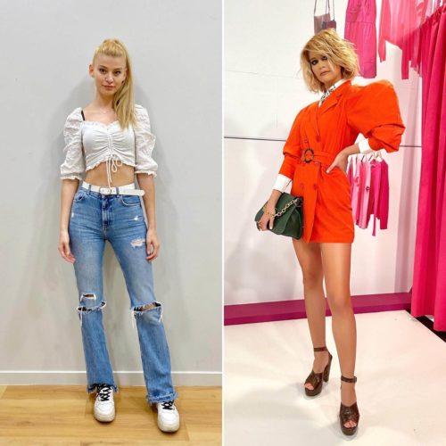 """Style Me Up»: Η «μεταμόρφωση» της Τζωρτζίνας σε πραγματικό μοντέλο και η συγκίνηση της Υβόννης Μπόσνιακ!"