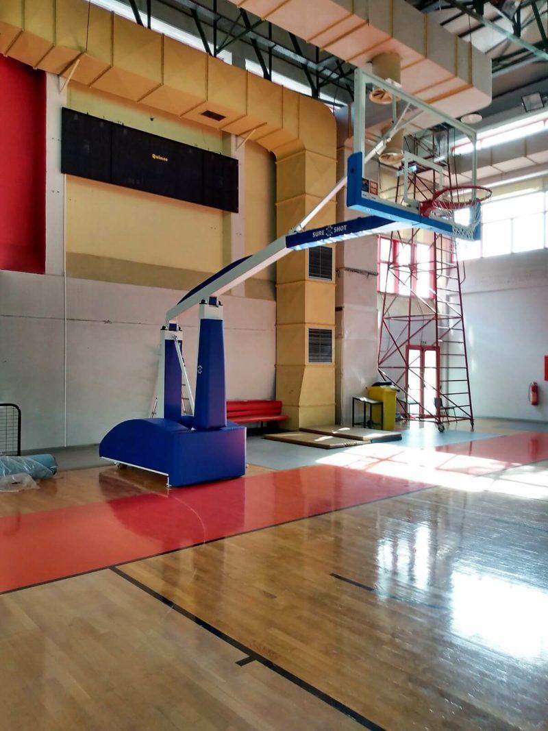 Καινούργιες μπασκέτες στο Κλειστό Γυμναστήριο του Δήμου Ηρακλείου Αττικής