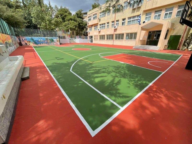 Αναμορφώσεις προαύλιων χώρων στα σχολικά κτήρια του Δήμου Αγίας Παρασκευής