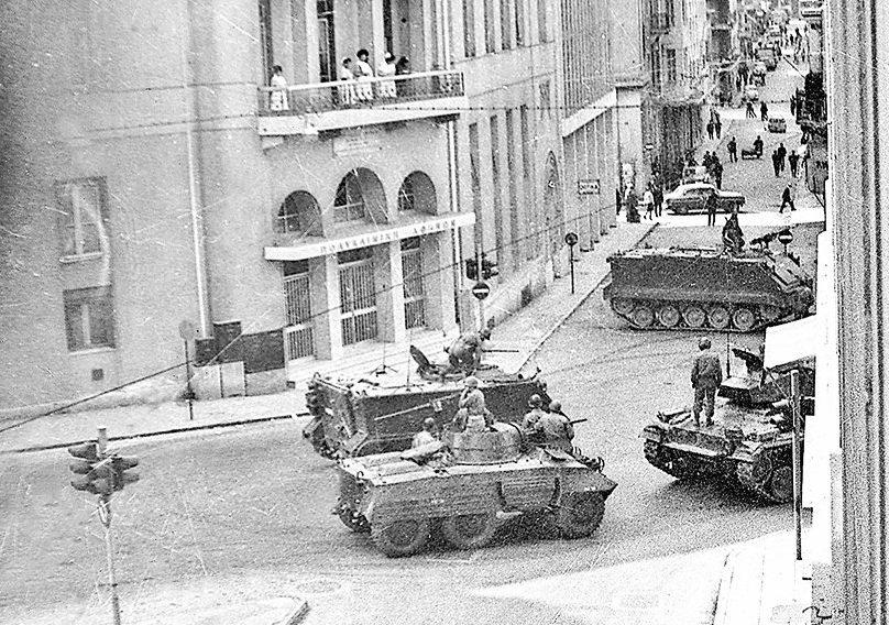 21η Απριλίου 1967: Θύμισες από την πρώτη μέρα της χουντικής 7ετίας, του Νέστορα Χατζούδη