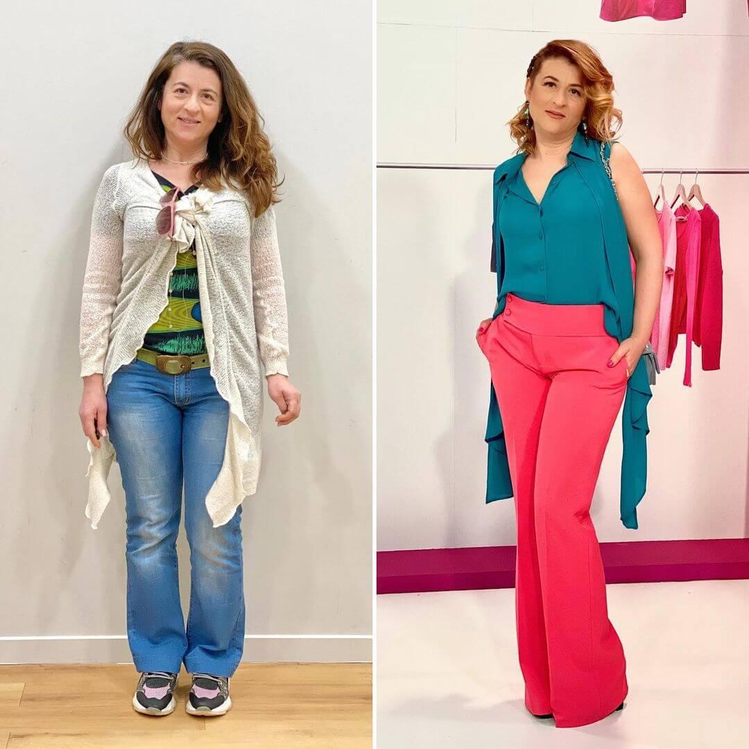 """Style Me Up"": Η εκκεντρική αλλαγή στο στιλ της Φωτεινής από τον Δημήτρη Αλεξάνδρου και τον Τρύφωνα Σαμαρά"