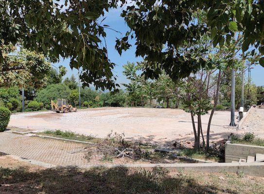 Δήμος Γαλατσίου: Ανακατασκευάζονται τα γήπεδα τένις