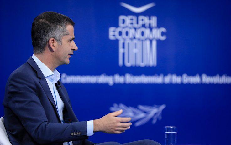 Ο Δήμαρχος Αθηναίων Κ. Μπακογιάννης στο 6ο Οικονομικό Φόρουμ των Δελφών