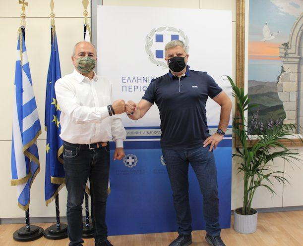 Δήμος Ηρακλείου Αττικής: Συνάντηση Γ. Πατούλη με τον Ν. Μπάμπαλο
