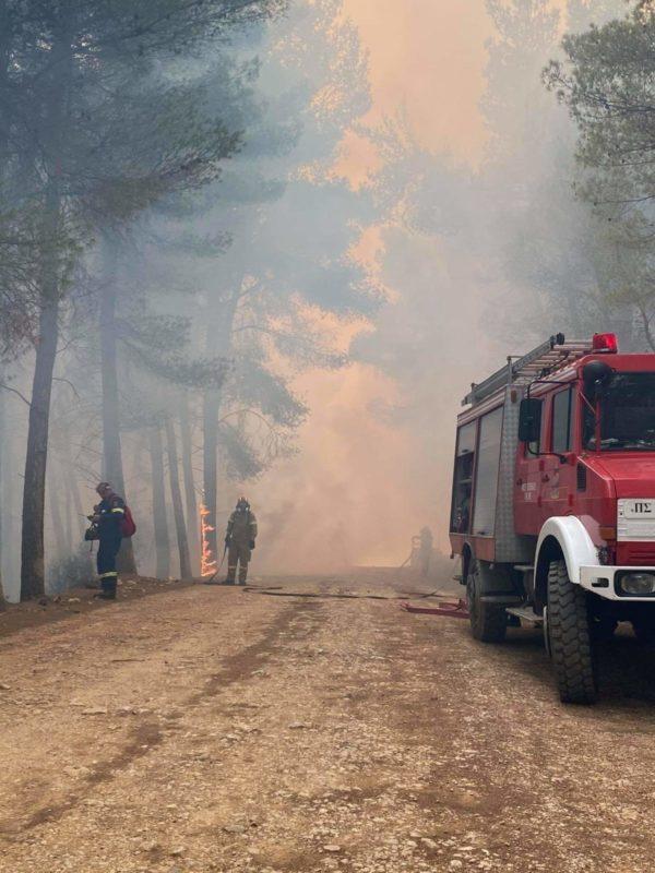 Κυβερνητικό κλιμάκιο στο Αλεποχώρι για την πρώτη αποτίμηση των καταστροφών