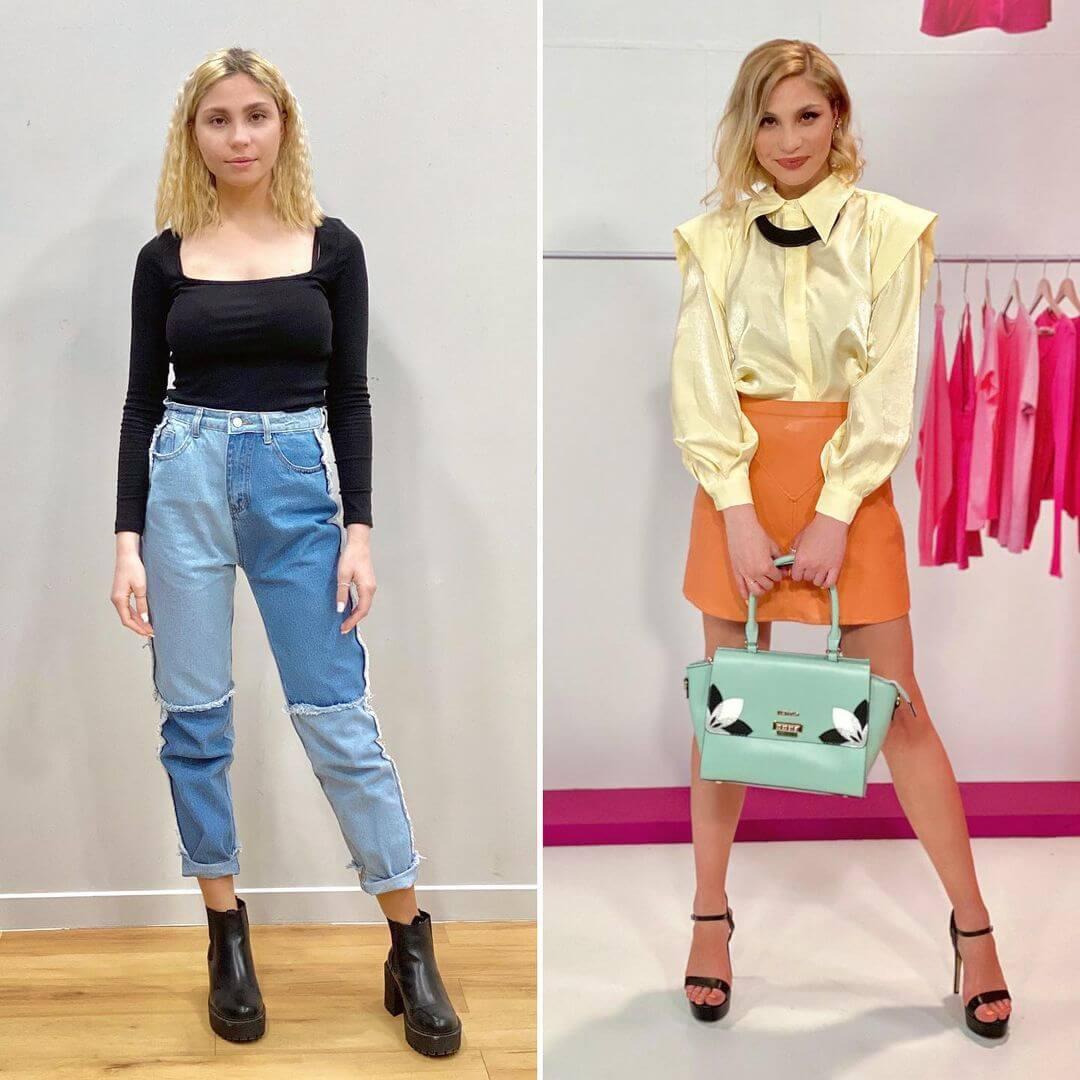 Style Me Up: Η Τόνια βρήκε το στιλ που της ταιριάζει με τη βοήθεια του Γιάννη Λάσκου