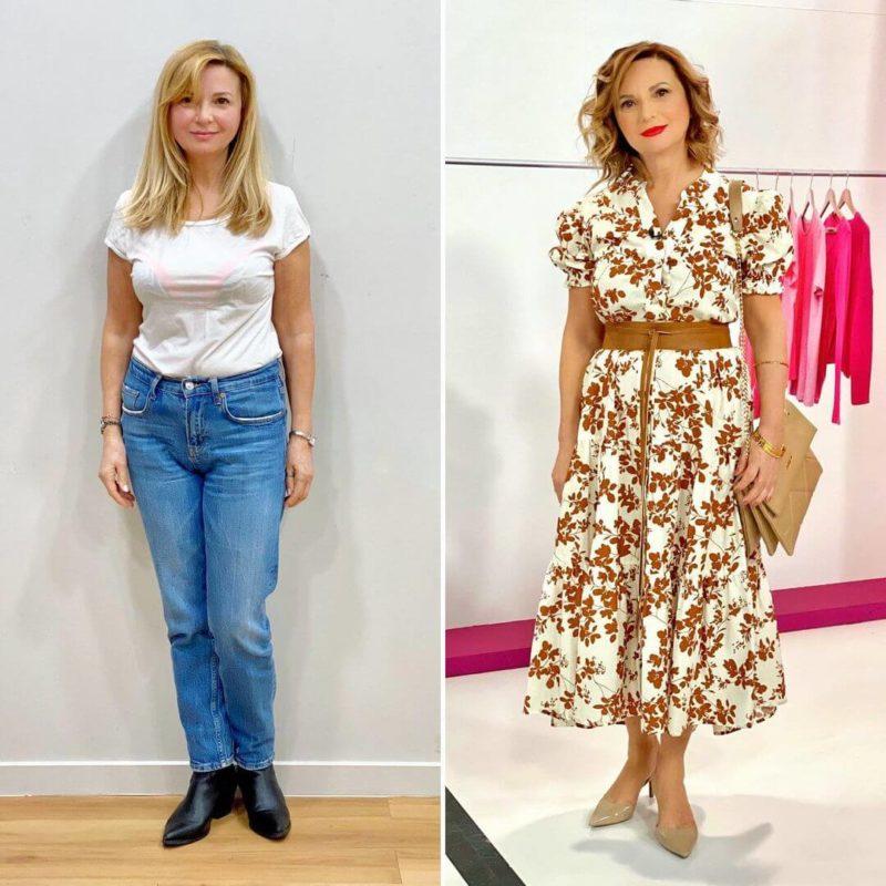 """Style Me Up"": Η Υβόννη Μπόσνιακ άλλαξε το στιλ της Βασιλικής και απογείωσε την εμφάνισή της"