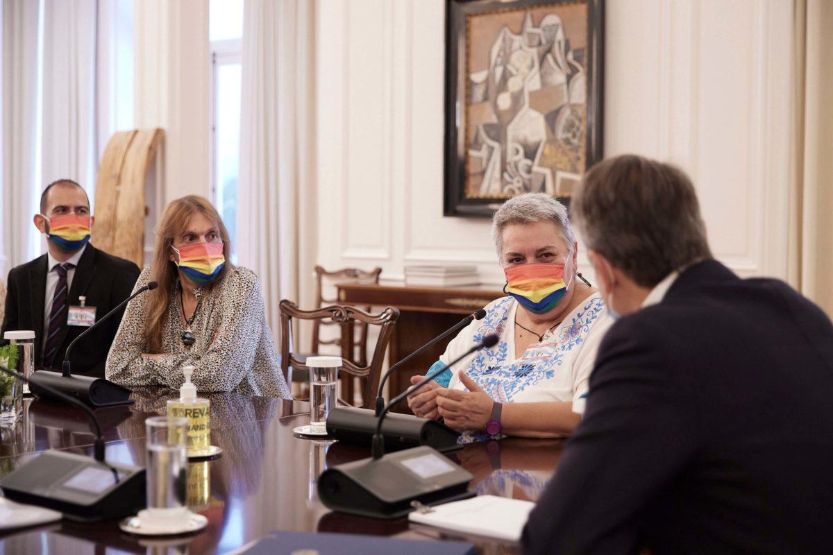 Συνάντηση Κυρια΄κου Μητσοτάκη με τον Πρόεδρο για την Εθνική Στρατηγική των ΛΟΑΤΚΙ+