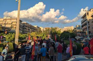 Συγκέντρωση κομματικών οργανώσεων του ΚΚΕ στο Γαλάτσι
