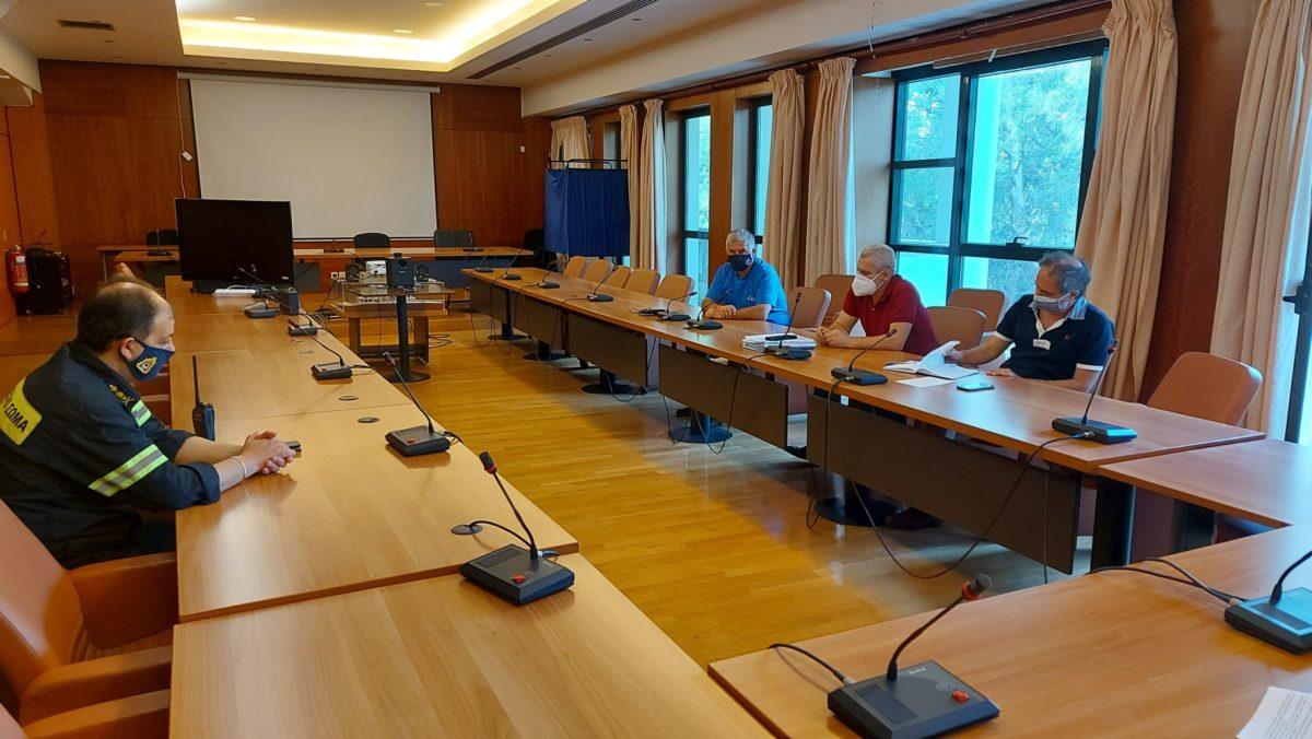 Δήμος Λυκόβρυσης – Πεύκης: Συνεδρίασε το Συντονιστικό Τοπικό Όργανο Πολιτικής Προστασίας εν όψει της αντιπυρικής περιόδου