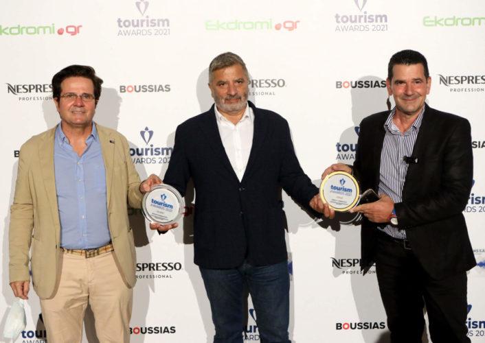 Χρυσό και ασημένιο βραβείο για την Περιφέρεια Αττικής στο φετινό θεσμό των Tourism Awards