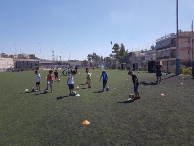 Εγγραφές στις Ακαδημίες Ποδοσφαίρου του Δήμου Ηρακλείου Αττικής για την σεζόν 2021-2022