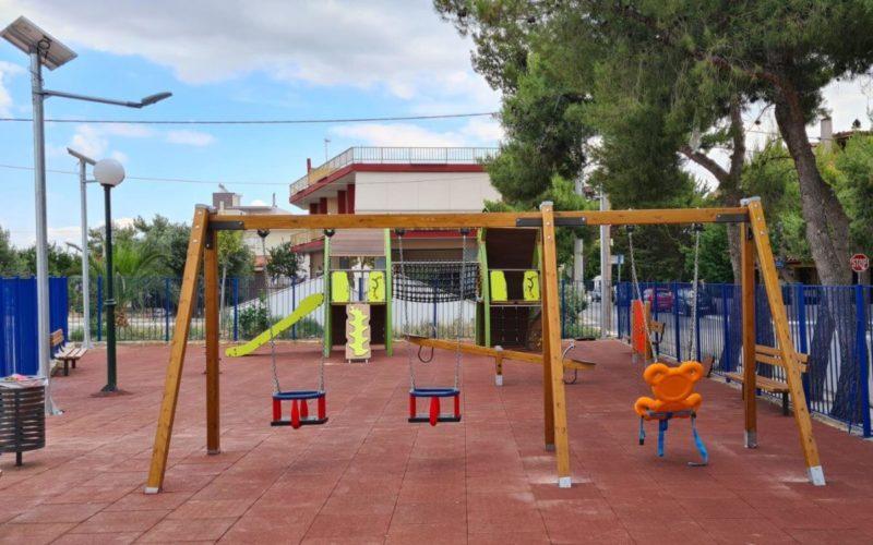 Δήμος Ασπροπύργου : Εκσυγχρονισμένη η παιδική χαρά στην Πλατεία Σεβαστάκη