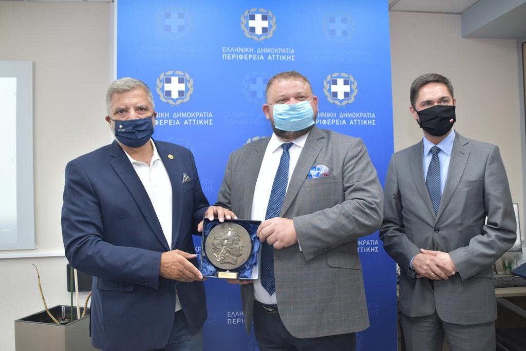 Συνεργασία Περιφέρειας Αττικής με την Πρεσβεία της Πολωνίας