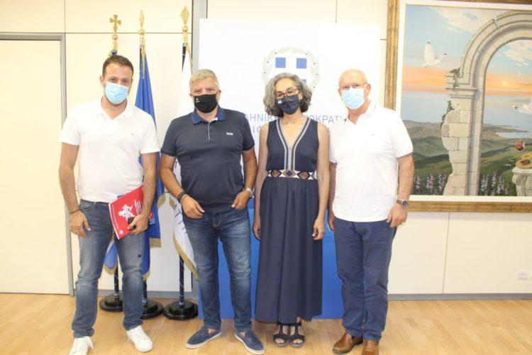 Επίσκεψη της νέας διοίκησης του ΣΕΓΑΣ στον Περιφερειάρχη Αττικής Γ. Πατούλη