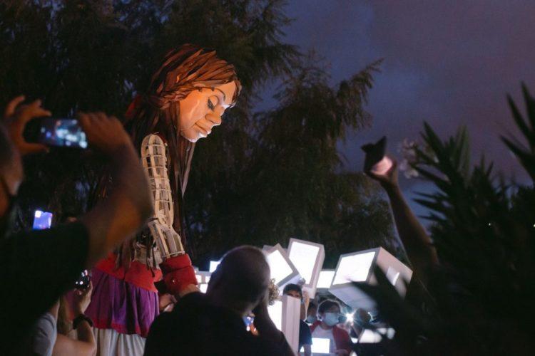 Η Ελευσίνα 2023 υποδέχεται την μικρή Αμάλ , την προσφυγοπούλα από τη Συρία