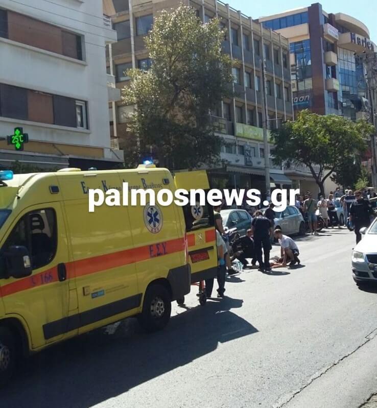 Τροχαίο ατύχημα στη Λεωφόρο Βεΐκου