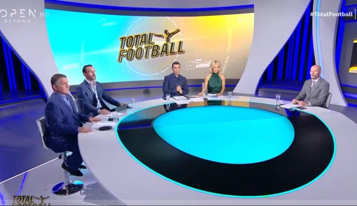 Total Football: Κυριακή στις 23:00 με δύο Πρωταθλητές Ευρώπης στο στούντιο