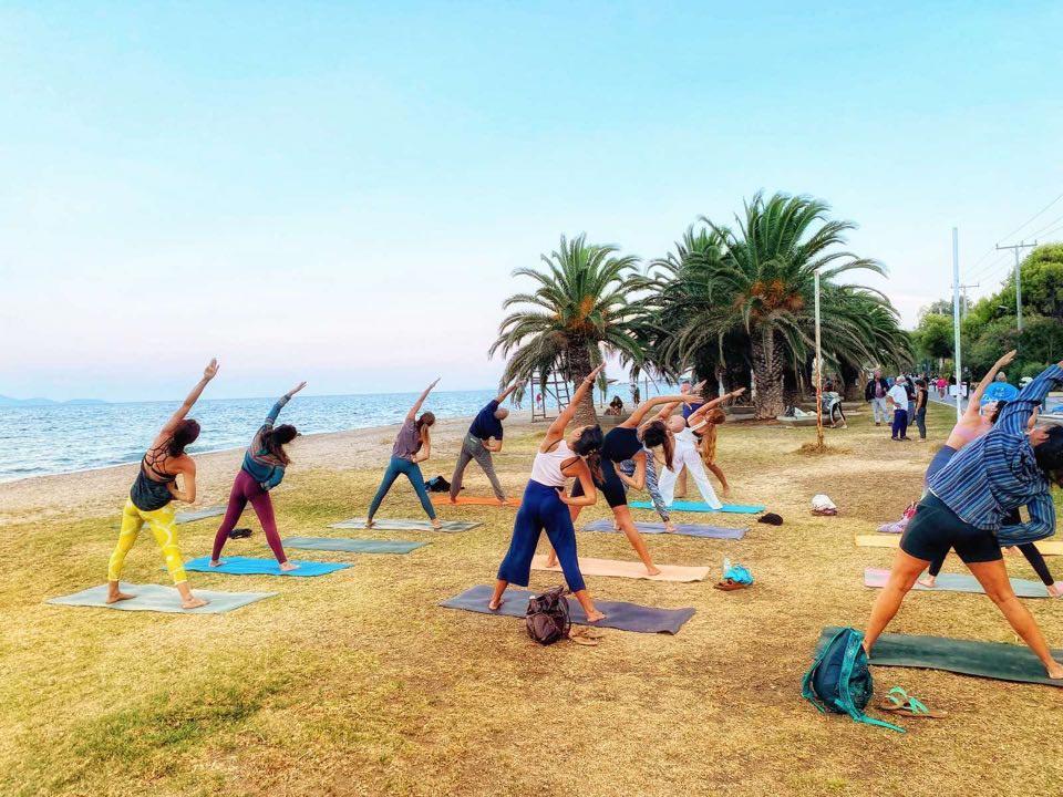 Με επιτυχία το 1ο Marathon Yoga Festival